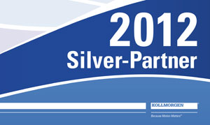 TBM Automation AG receives Silver Partner award from Kollmorgen Europe GmbH